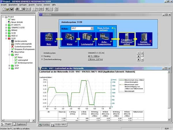 SIZER for Siemens Drives Новая версия - v.3.22